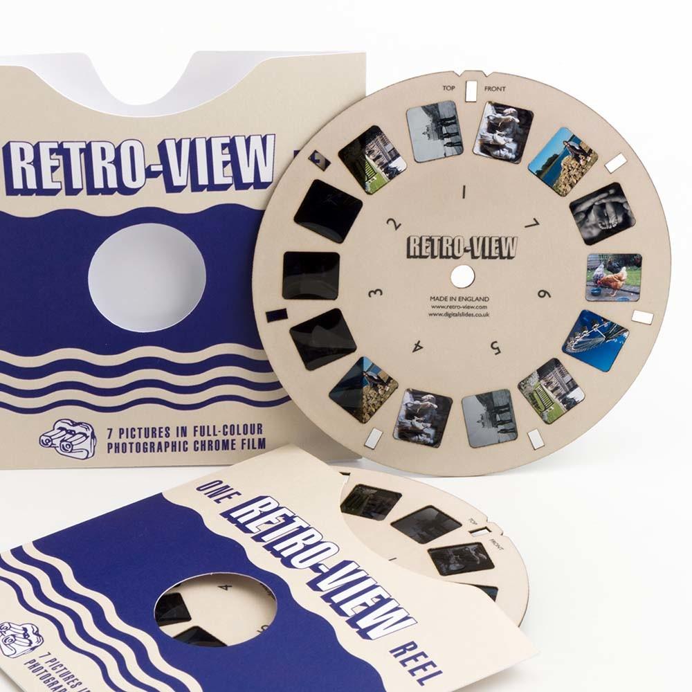 Custom View-Master reels