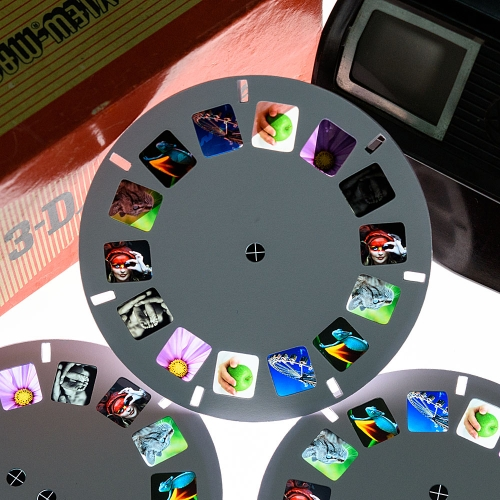 Custom view-master reel