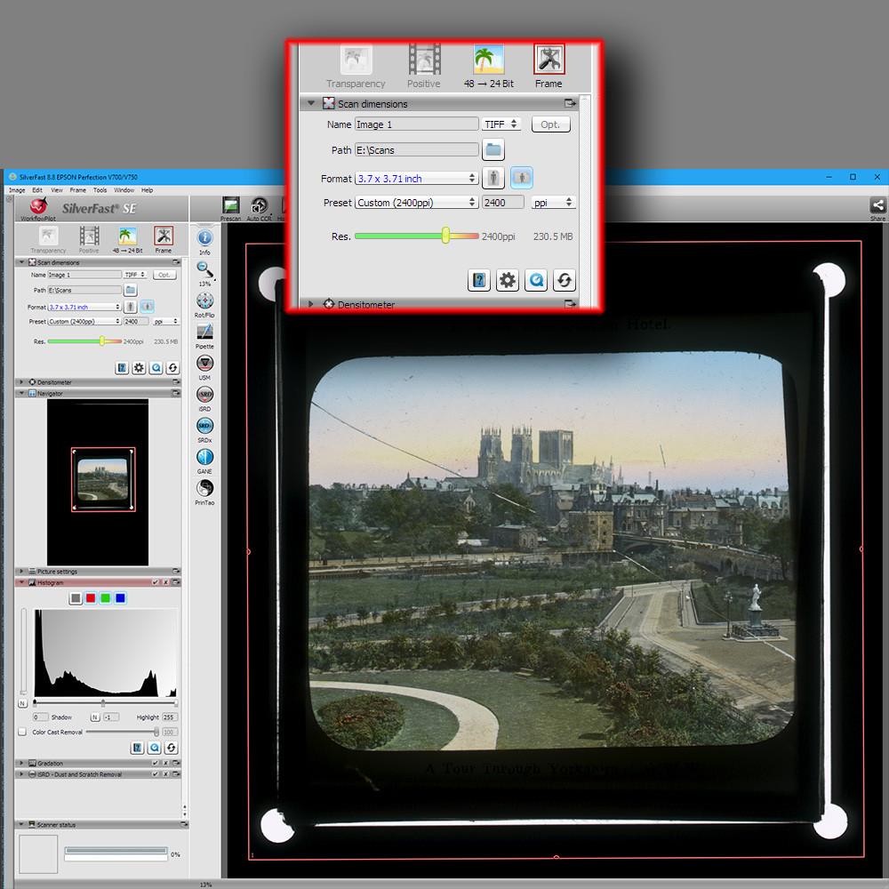 lantern slide scan